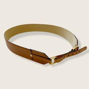 COPY - Ann Taylor Brown/Cognac Horsebit Waistbelt